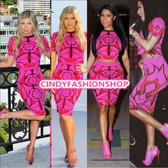 2015 Summer Women Ladies  Bandage Short Sleeve Printed 2PC Set Club Prom Dress  | eBay