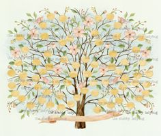 Watercolor Custom Personalized Family Groups Family Tree Siblings, Aunts, Uncles, Etc. by ShabbyLadybug on Etsy Family Tree Poster, Family Tree Art, Free Family Tree, Watercolor Paper Texture, Watercolor Trees, Tree Templates, Art Template, Blank Family Tree Template, Family Tree Designs