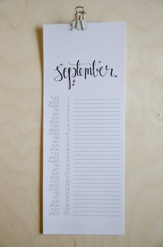 Free Printable 2015 Calendar -- beautiful and simple.