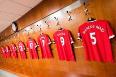 Behind the scenes at Old Trafford with a view from inside the @manutd dressing room.