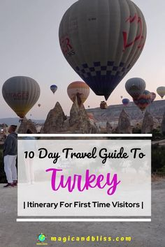 10 days Turkey itinerary will help you plan the perfect trip to Turkey. Our detailed 10 day Turkey itinerary includes Istanbul, Cappadocia, Fethiye. With this guide you can check out cosmopolitan cities, ancient archaeological sites, beaches, bazaars & scenic landscapes of Turkey. This is the perfect itinerary for first time visitors looking to enjoy their vacation in Turkey! #Turkey #TurkeyItinerary #Turkeytravel Europe Travel Tips, Places To Travel, Travel Route, European Travel, Travel Advice, Travel To Turkey, Turkey Europe, Amazing Destinations, Travel Destinations