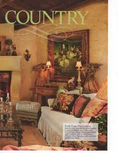 may issue of country sampler my home in country sampler magazine