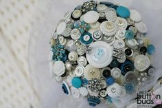 #love the #pops of #blue in this #buttonbouquet as it really gives it that #frozen feel  #alternativebouquet #stunning #buttons #sparkles #alternative #wedding #bride #instaweddings #handmade #love #weddingparty #celebration  #bridesmaids #happiness #unforgettable #forever #ceremony #romance #marriage #weddingday #buttonbouquets #fashion #flowers #australia  www.nicsbuttonbuds.com.au www.facebook.com/nicsbuttonbuds www.pinterest.com/nicsbuttonbuds www.instagram.com/nicsbuttonbuds…
