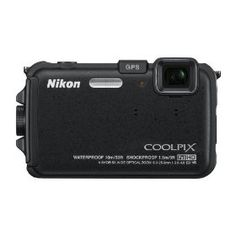 #9: Nikon COOLPIX AW100 16 MP CMOS Waterproof Digital Camera with GPS and Full HD 1080p Video (Black)