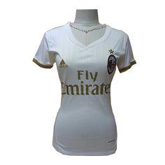 Camiseta AC Milan Mujer Segunda 2016-17