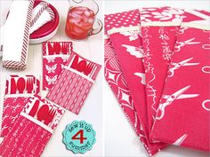 ScrapBusters: Flatware Pockets for Outdoor Dining | Sew4Home