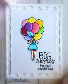 Big Wishes Card By Maria Russell