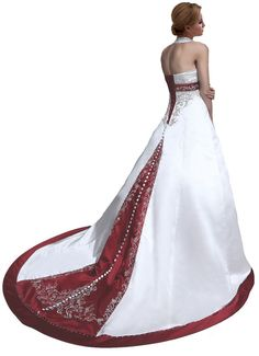 Custom Elegant Halter Wedding Dress Bridal Gown Plus Size 6 8 10 12 14 16 18++++