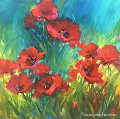 Countdown to Painting Brilliant Colors Spring Online Class -- Nancy Medina