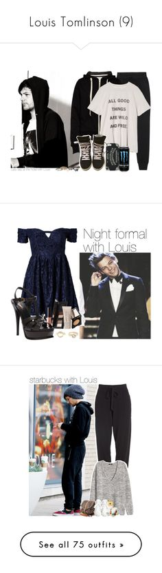 """Louis Tomlinson (9)"" by the-girl-in-the-hallway ❤ liked on Polyvore featuring OneDirection, louis, louistomlinson, tomlinson, rag & bone, 6397, Yves Saint Laurent, 1d, Ginger Fizz and Charlotte Russe"