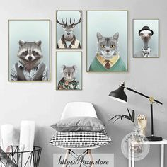 [New] The 10 All-Time Best Home Decor (Right Now) - Home Decor by Yvonna Rivera - Animal wall art collections. Link in BIO Shop Canvas Poster, Canvas Wall Art, Abstract Animals, Home Decor Styles, Pet Portraits, Boho Decor, Home Art, Living Room, Cotton Canvas