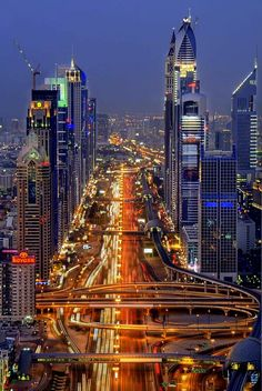 Highway DUBAI - UNITED ARAB EMIRATES (Shot by Andrew Madali on 500px)