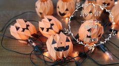 Aprenda a fazer Lanternas de Halloween super fáceis e incríveis! <3