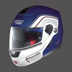 Caschi da moto Integrali NOLAN N91 EVO CAYMAN BLUE WHITE