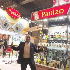 El gran @pepeorts pillado en el stand de @orujospanizo antes de la entrevista con @brandtenders.news  en #salondegourmets