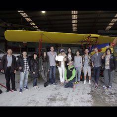 That's a Wrap! ELLE China Magazine Shoot @visitmelbourne #greatoceanroad #torquay #melbourne #victoria #australia #ellemagazine #photoshoot #videoshoot #behindthescenes #bts #tigermoth #hanger #wrap #travel #fashion #planes @leaf1982 @zilinzhang @kikipenny