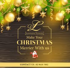 Make Your #Christmas #Merrier With Lantana Venues!