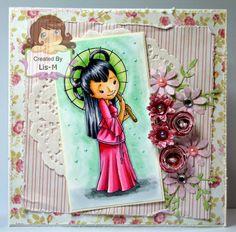 Oriental Inspirational card