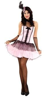 Ce déguisement de danseuse de cabaret est sexy et élégant à la fois !