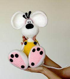 Crochet Diddl doll