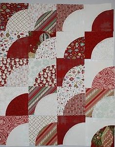 Spun Sugar Quilts: Peppermint Path Go! Quilt Block Patterns, Pattern Blocks, Quilt Blocks, Quilting Tips, Quilting Projects, Quilting Designs, Drunkards Path Quilt, Black And White Quilts, Patch Aplique