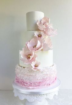 Wedding Cakes with Charmingly Sweet Details - MODwedding
