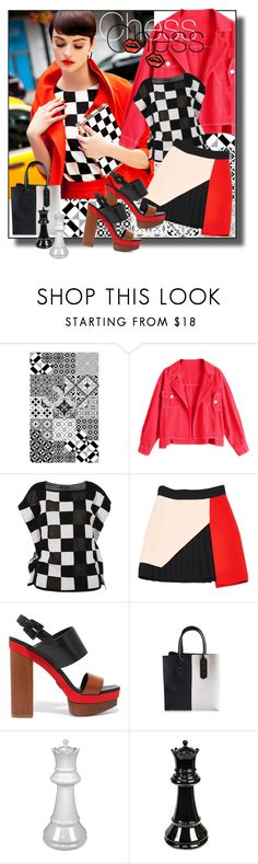 """Chess"" by zakharova-83 ❤ liked on Polyvore featuring Beija Flor, Twinset, FAUSTO PUGLISI, Michael Kors, Sagebrook Home and George J. Love"
