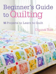 Thrifty Quilting: Tips to Successfully Quilt on a Budget | Sew Mama Sew | Beautiful cover quilt from Elizabeth Betts book-love the use of large florals from vintage sheets Best Thrifty Tips #thrifty