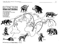 Animal Extinction by Early Men - Ice Age Hunters in the New World