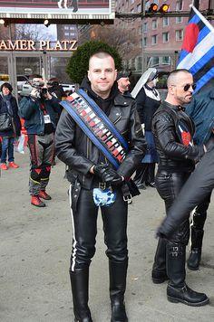 #MrLeather Poland 2016, Maciej Chojnack. #LeatherPL