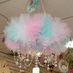 Enchanted Bella Boutique is an online boutique that carries a variety of items from hair accessories, room decor, clothing, baby shower gifts and so much more. Unicorn Rooms, Unicorn Room Decor, Unicorn Bedroom, Mobile Chandelier, Diy Chandelier, Diy Crafts For Girls, Diy For Kids, Crystal Room Decor, Whimsical Bedroom