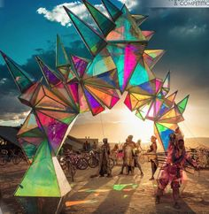 Last Call for Entries to the 2018 A' Design Awards Pulse Portal Art Installation by Davis McCarty Interactive Installation, Installation Art, Art Installations, Portal Art, Parc A Theme, Art Grants, Psy Art, Stage Design, Psychedelic Art