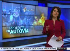 En La Romana Violenta Protesta Por La Muerte De Una Mujer #Video