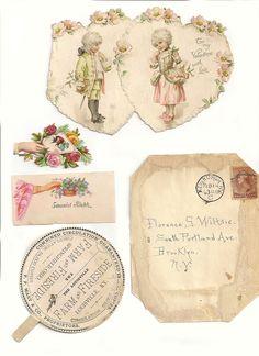love the round farm fresh label Vintage Labels, Vintage Ephemera, Vintage Cards, Vintage Paper, Vintage Postcards, Images Vintage, Vintage Pictures, Paper Art, Paper Crafts