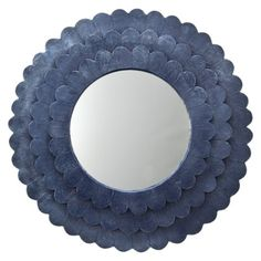 Scallop Mirror