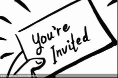 "Reverse RSVP: Now a card that says ""you are not invited"""