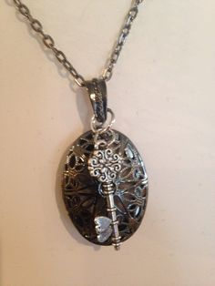 A personal favorite from my Etsy shop https://www.etsy.com/listing/275872192/key-essential-oil-diffuser-necklace