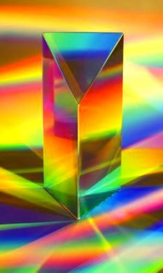 ** Rainbow colors - I love prisms and crystals that throw rainbows!