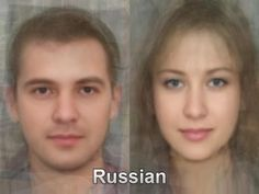 Average Russian Man and Woman
