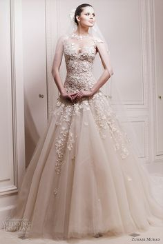 zuhair murad bridal 2012 laverna wedding dress