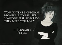 Bernadette Peters - shared by http://sassycurves.com/