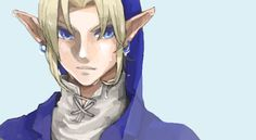Link with Water Tunic