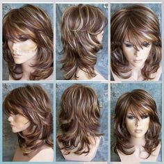 Best 11 See the source image – SkillOfKing. Hair Do For Medium Hair, Haircuts For Medium Hair, Medium Layered Hair, Medium Hair Cuts, Long Hair Cuts, Medium Hair Styles, Layered Haircuts, Curly Hair Styles, Mom Hairstyles
