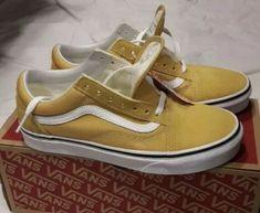 3e5e5d02f Vans Old Skool Ochre True White NWT Women Size 10 Men Size 8.5  fashion   clothing  shoes  accessories  mensshoes  athleticshoes (ebay link)