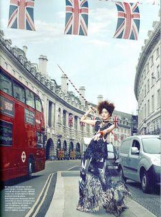 ph: kang hye won  Hyoni Kang in Vogue Korea, July 2012.  Stylist : Son Eun Young  Hair : Kim Seun Won  Make-up : Ryu Hyun Jung