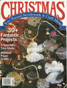 #Christmas #Vintage Needlework Craft #Magazine July August 1992 Issue.