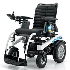 Electric wheelchair / height-adjustable / with legrest AIRIDE P 801E KSP ITALIA