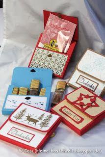 Kerstin's kleine Bastelwelt: Weihnachtsmarkt 2013, Merci-Box