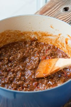 We tested, and tested, and tested sloppy joes recipes and this is definitely the BEST recipe out there ohsweetbasil.com