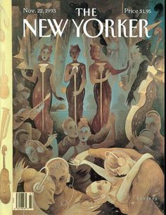 The NewYorker cover by Ceesepe